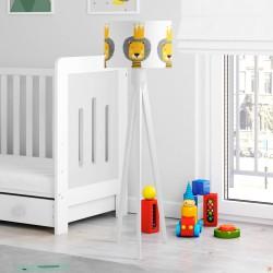 Aslan Kral Beyaz Çocuk Odası Lambader