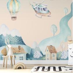 Saklı Diyar Çocuk Odası Duvar Kağıdı