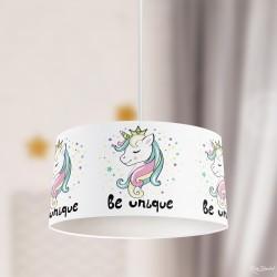 Prenses Unicorn Çocuk Sarkıt Avize