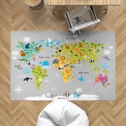 Adventure Map Çocuk Halısı